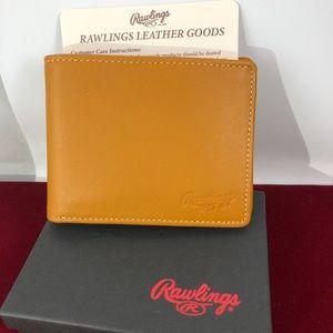 Rawlings Bags - Rawlings Heart of the Hide Tan Wallet Billfold